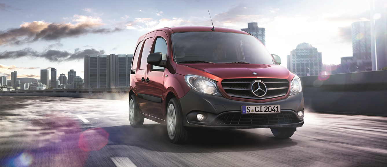 Mercedes-Benz Citan Panel Van, Crew Van and Tourer
