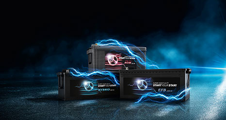Mercedes-Benz Truck Batteries