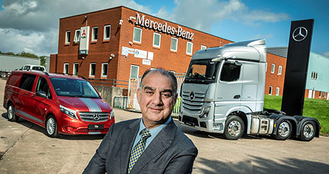 New Mercedes-Benz Dealer eStar Truck and Van