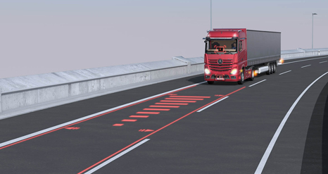 Innovation for more safety on the road